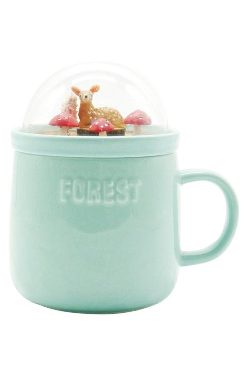 Forest Ceramic Mug - Green