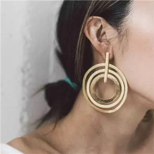 PK Hoop Earring