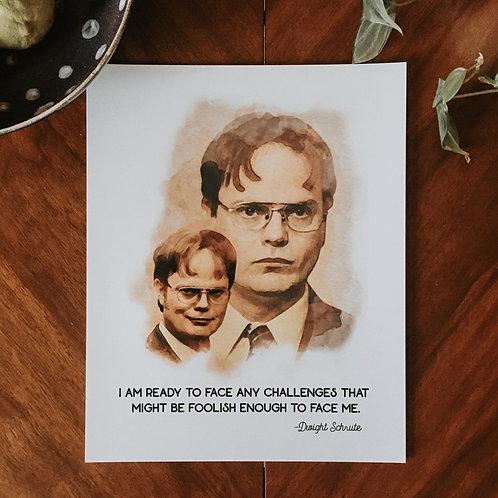 Dwight Schrute Print
