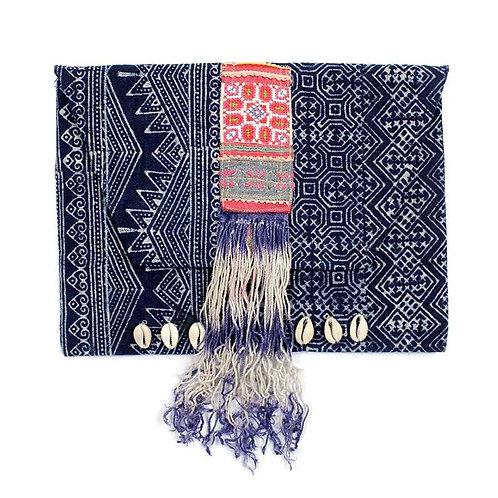Batik Hmong Clutch