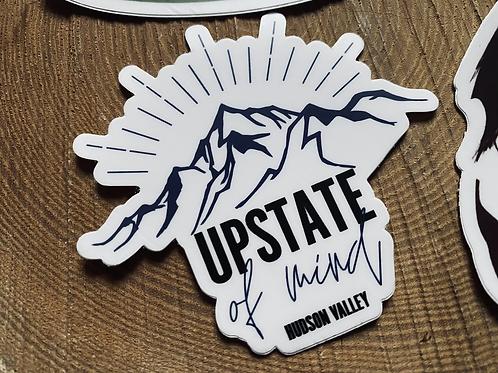 """""""Upstate of Mind"""" Vinyl Sticker"""