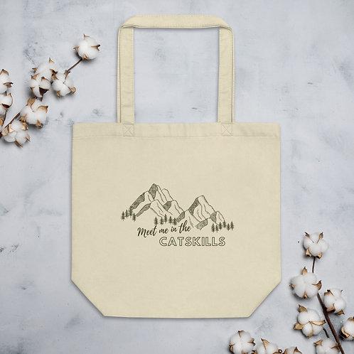 """Meet Me In the Catskills"" Reusable Tote Bag"