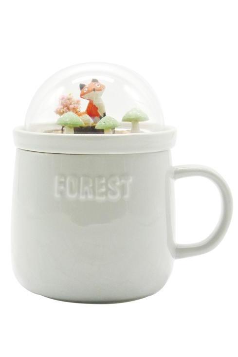 Forest Ceramic Mug - Gray