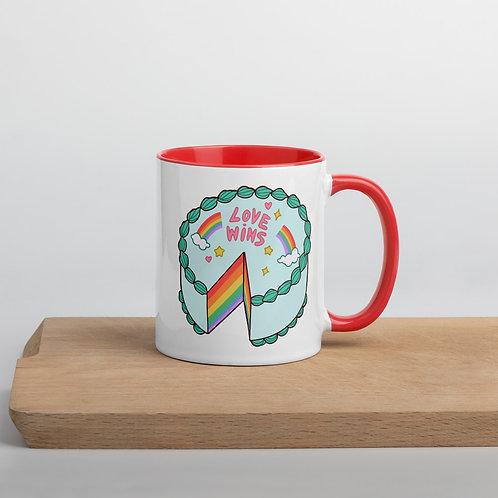 """Love Wins"" Mug (3 Colors)"