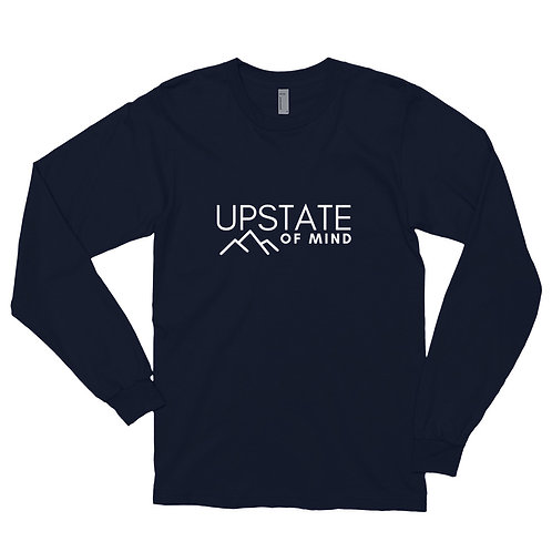 """Upstate of Mind"" Unisex Long Sleeve Tee"