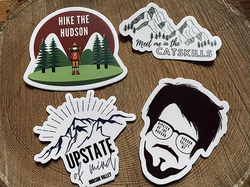 Hudson Valley Sticker 4-Pack