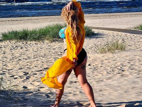 Let's meet at the beach...