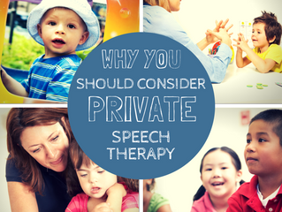 Why should I consider private speech therapy?