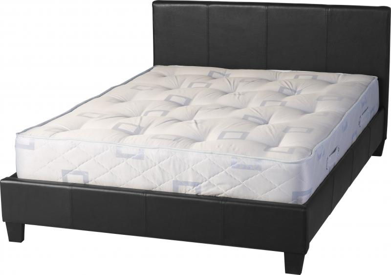 PRADO 4ft6 LEATHER BED