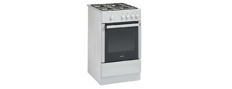 GORENJE 50CM SINGLE CAVITY COOKER GAS