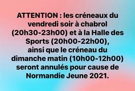ATTENTION information :