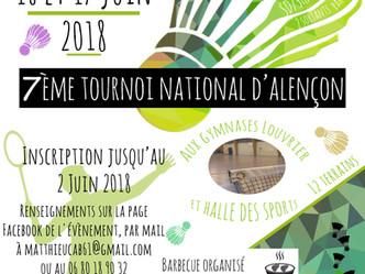 7ème Tournoi National Seniors d'Alençon