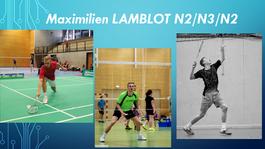 INTERVIEW 3  : Maximilien Lamblot, troisième et dernier renfort pour l'équipe 1