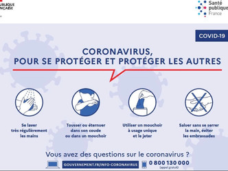 A lire très attentivement : Coronavirus