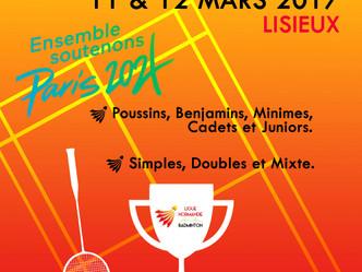 Résultats des championnats de Normandie Jeunes.