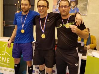 Championnat de l'Orne simples et mixte : les résultats