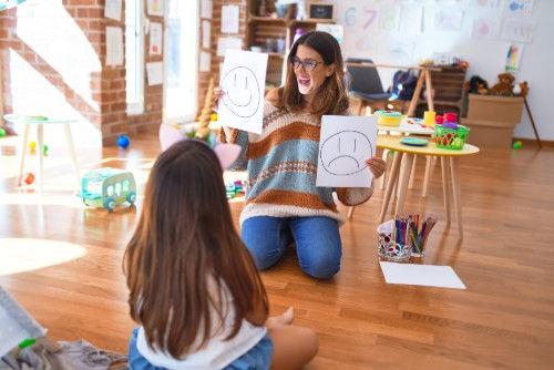 child psychologist exploration of emotio
