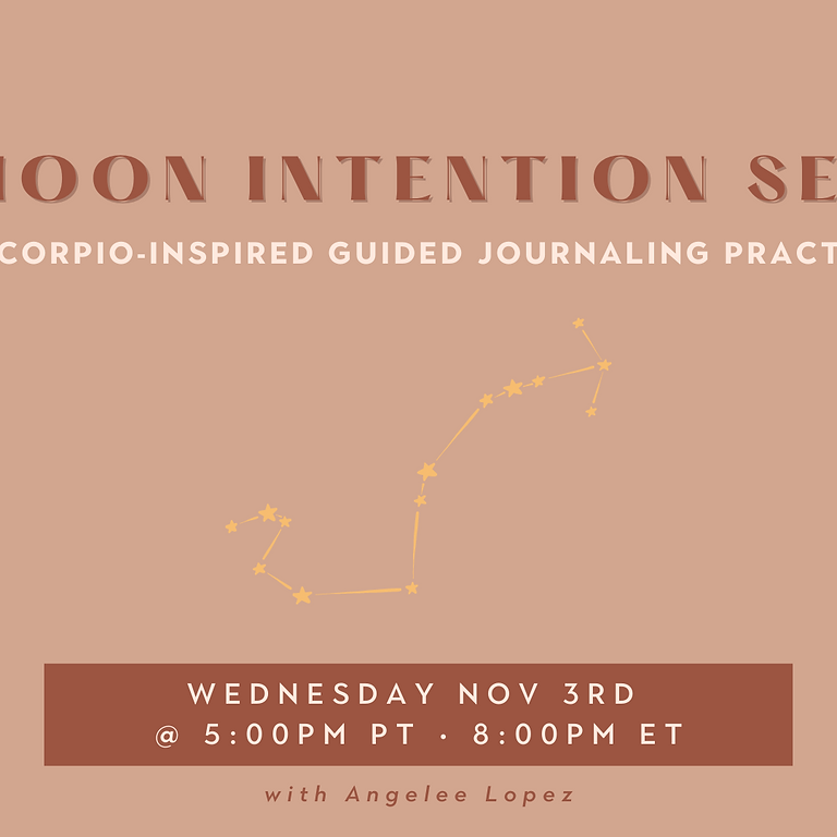 New Moon Intention Setting at Manifest House