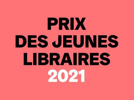 Inscriptions au Prix des jeunes libraires 2021