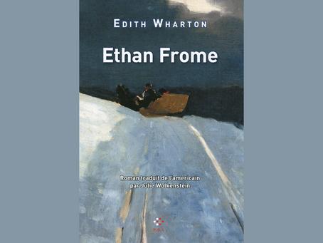 Ethan Frome, Edith Wharton - Éditions P.O.L