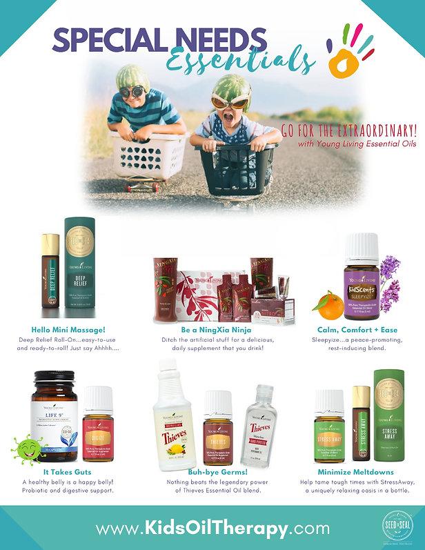Essential Oils for Special Needs