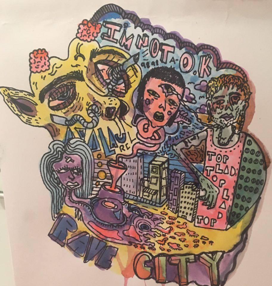 """comic book """"Rave City"""" idea"""