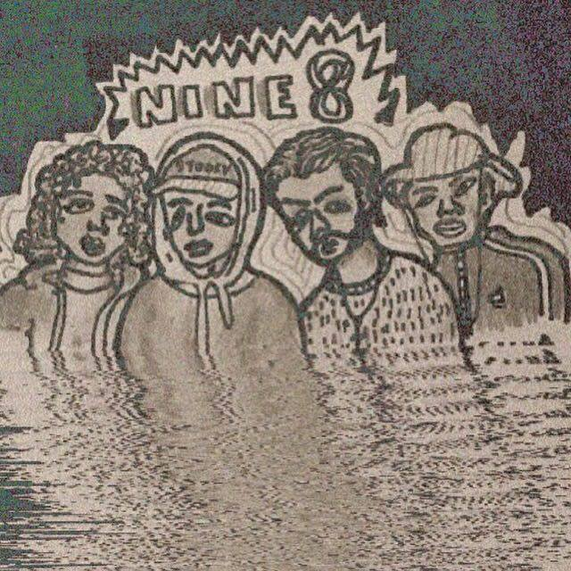 initial NiNE8 poster illustration