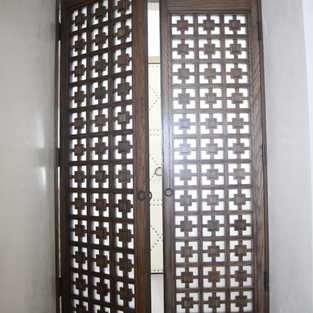 Oak Doors With Privacy Glass