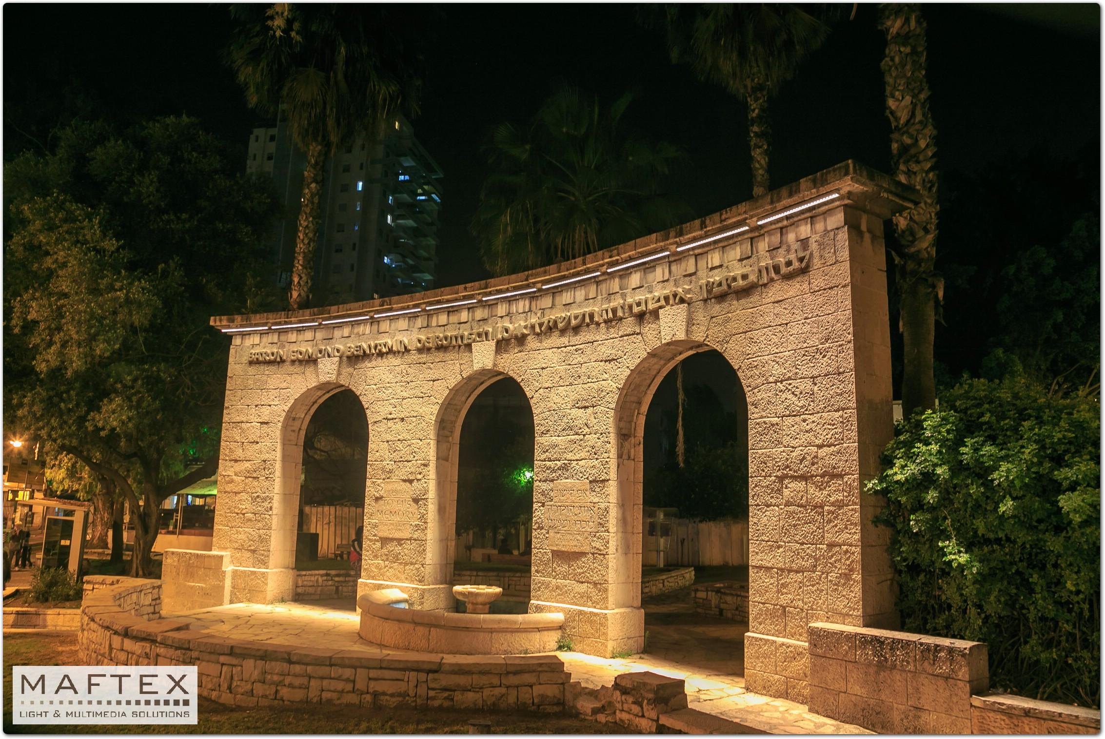 תאורה למקומות היסטורים