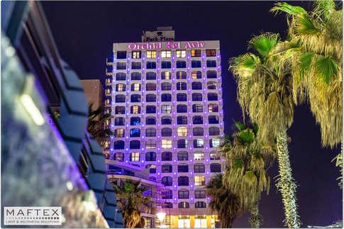 תאורה אדריכלית לבית מלון