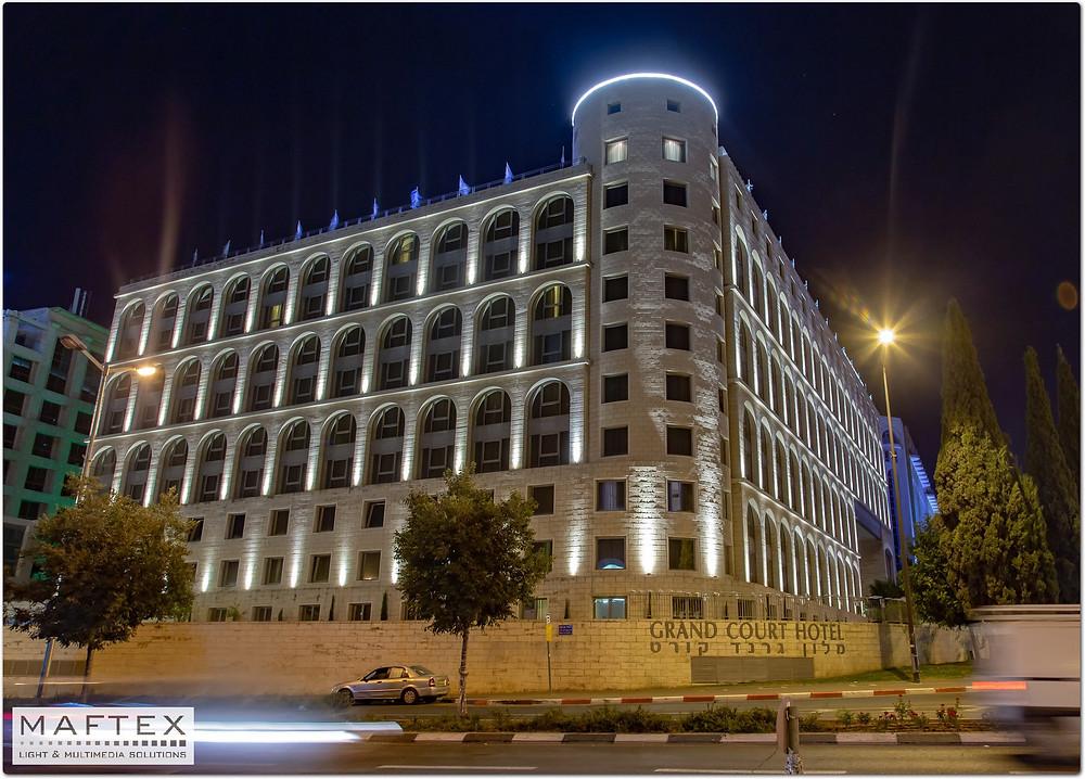 תאורה אדריכלית למלון