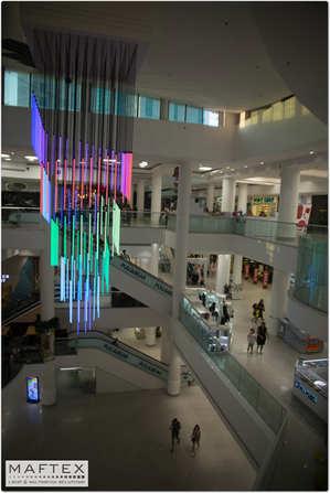 עיצוב תאורה לקניון
