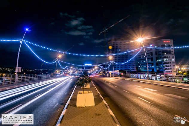 BRIDGE 44. CITY OF REHOVOT