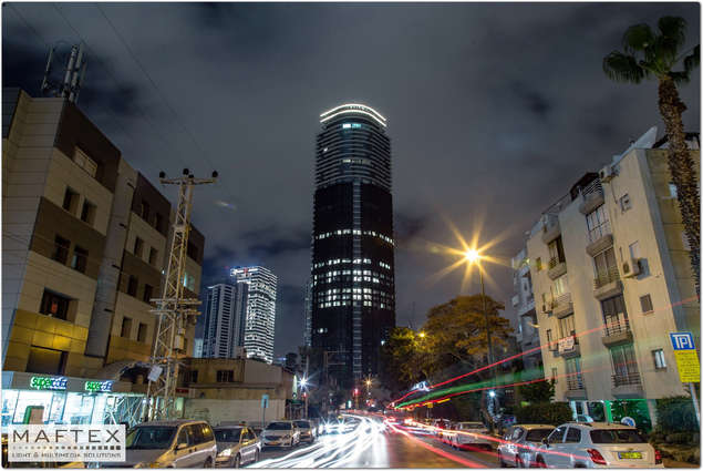 תאורה אדריכלית למבנה