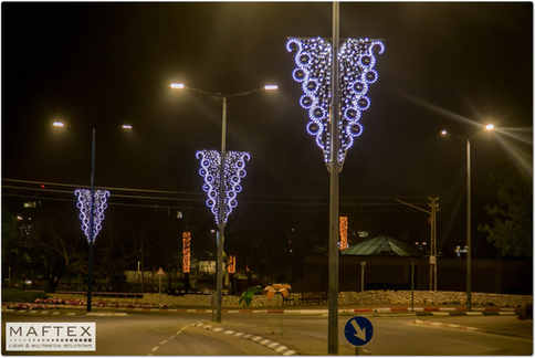 LOD CITY-LAMPOST DECORATION