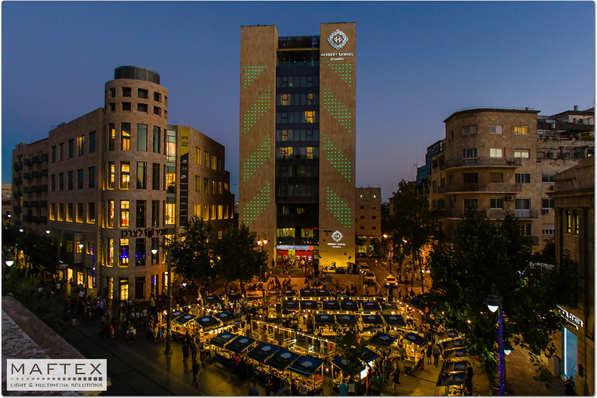תאורה למלון בירושלים