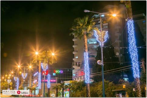 תאורה לעיר - חדרה