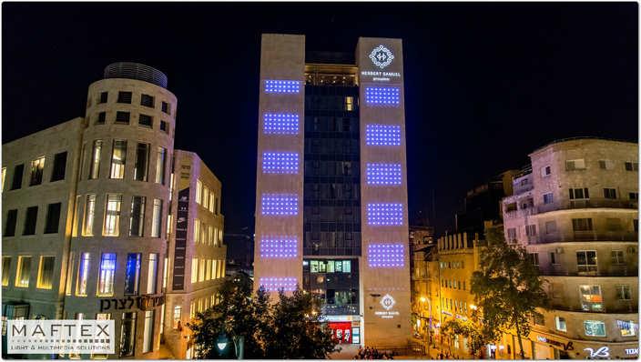 תאורה מעוצבת למלון