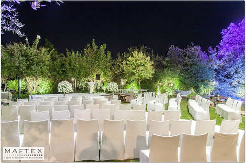 תאורת גן האירועים