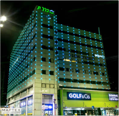 תאורה חיצונית לבניין