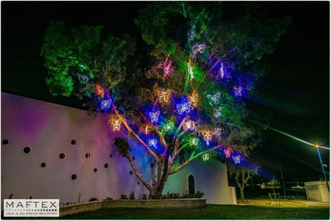 פרפרים מוארים - קישוטי תאורה