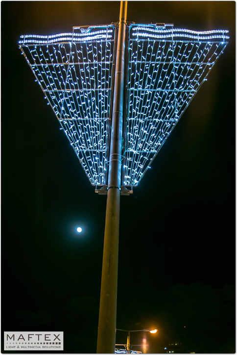 REHOVOT - LIGHTING DECORATION