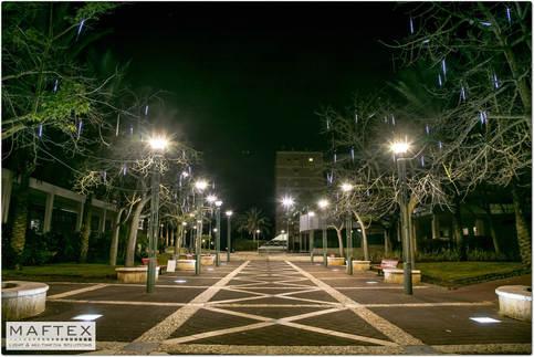קישוטי תאורה לעיר