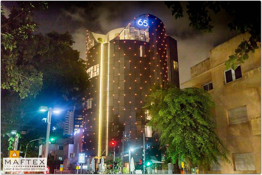 תאורה אדריכלית - רוטשילד 65