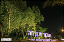 תאורה בכניסה לעיר