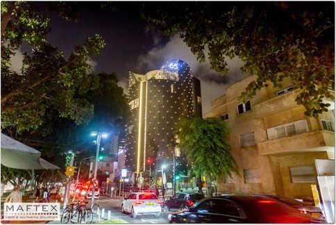 ROTHSCHILD 65 HOTEL TLV LIGHTING