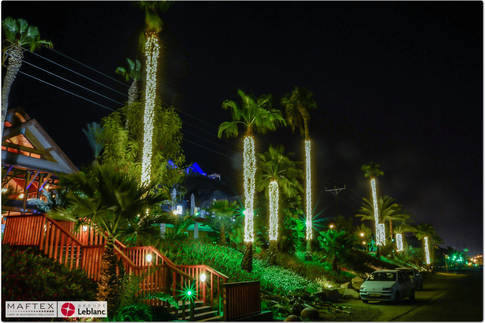 תאורה לכניסה של מלון