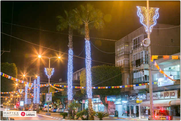 HADERA - CITY LIGHTING