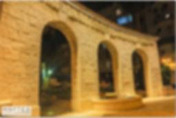 תאורה אדרכלית למבנה היסטורי