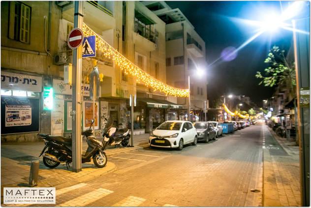 קישוטי תאורה תל אביב